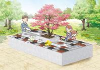 散骨ができる樹木葬・ペットと入れる樹木葬完成